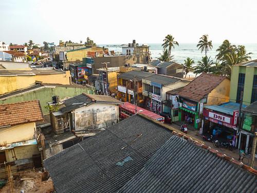 Hikkaduwa rooftops