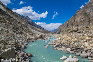 Chandra RIver in Spiti Valley