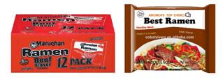 Ramen noodle packs
