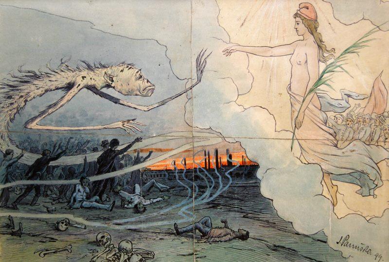 Jaroslav Panuska - Vampire In Worker's Revolution, 1899