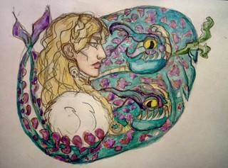 Её дракон(ы)