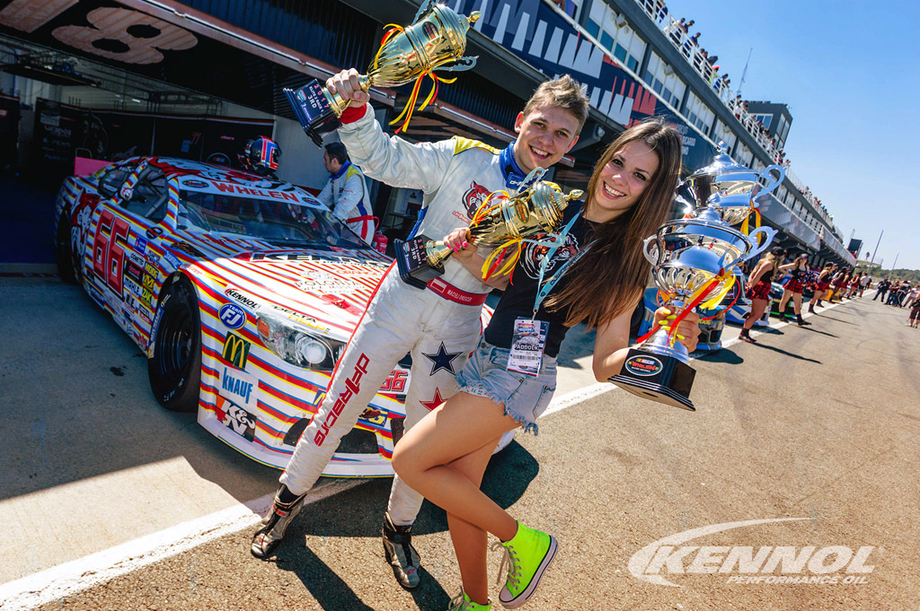 Victories and podiums for KENNOL in opening of 2017 Euro NASCAR.