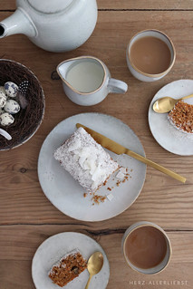 Carrot cake with coconut | by herz-allerliebst