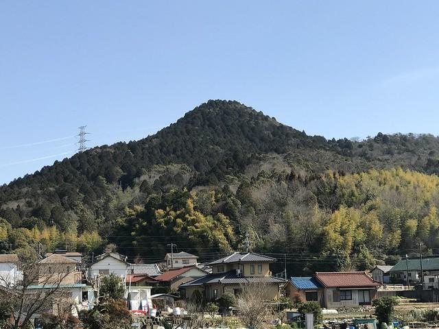 尾張富士 遠景