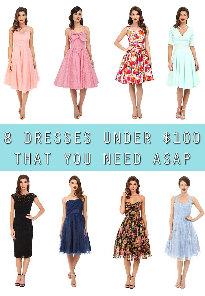Eight Dresses Under $100 That You Need ASAP