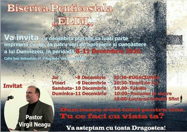 8-11 Decembrie 2016 - Seri de Har