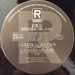 PMD:RUGGED-N-RAW(LABEL SIDE-B)