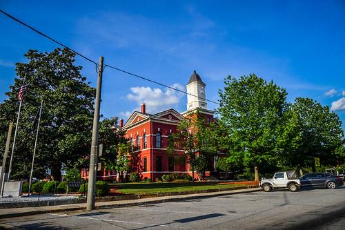 Pike County Courthouse Zebulon