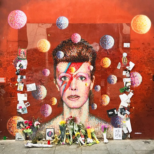 David Bowie mural, Brixton | by Ungry Young Man