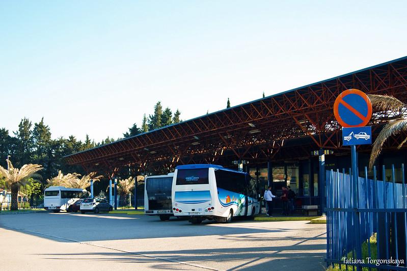 Междугородние автобусы на автостанции Бара