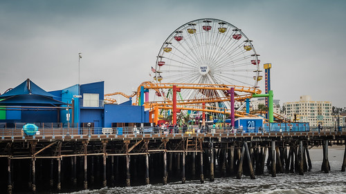 Santa Monica Pier | by davemilam