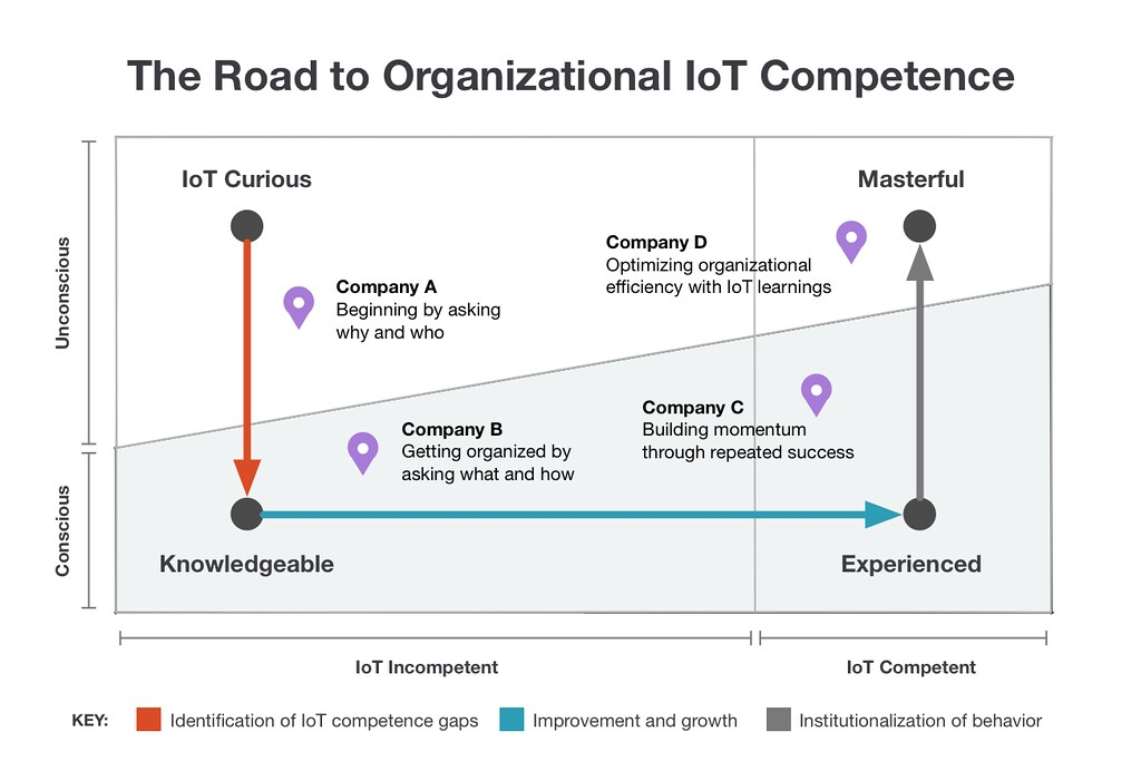 The Road to Organizational IoT Competence