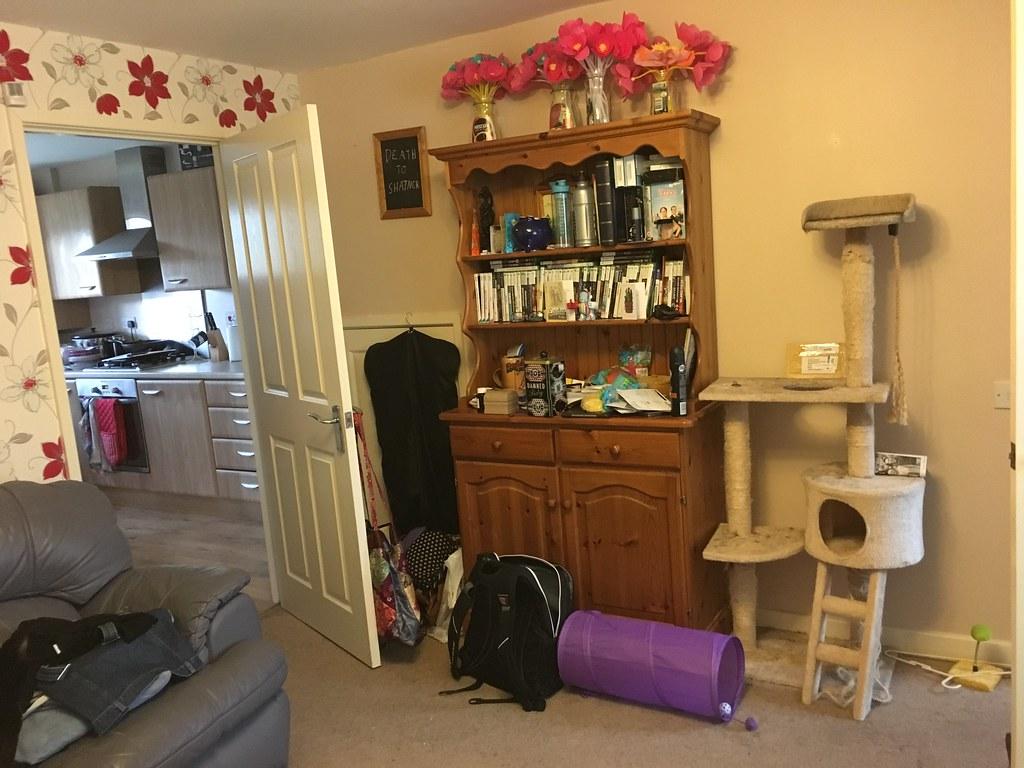 living room - dresser