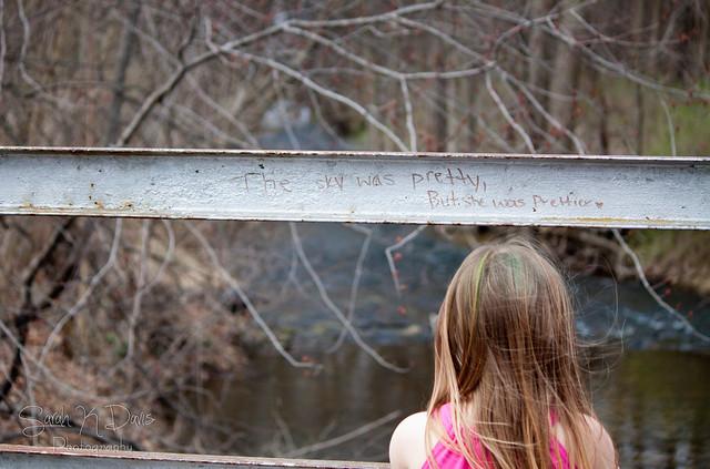 Kyleigh at the Bridge