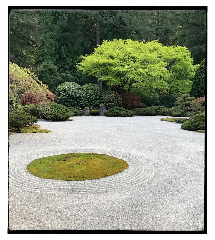 Flat garden.