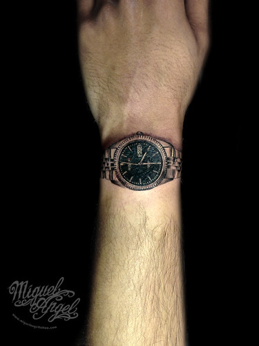 Citizen© Granddad's Watch Custom Tattoo