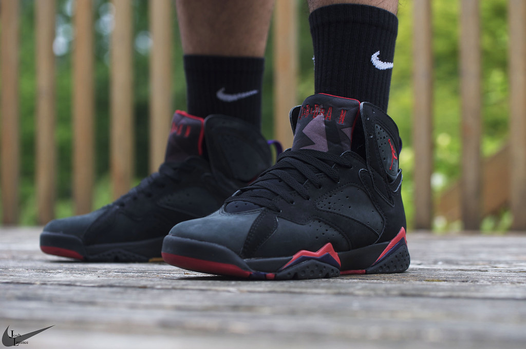 d9a87bb88332fa Raptor 1992 Air Jordan VII by josh laurence ...