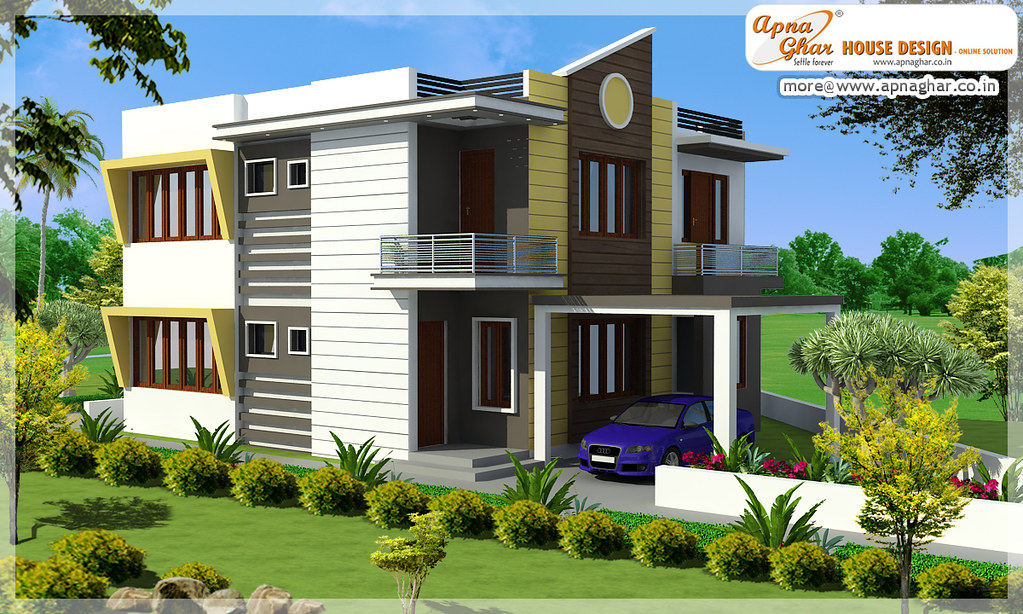 Good Contemporary Home Design E7 0ew Part - 5: 28 Contemporary Home Design E7 0ew Modern Duplex House Design