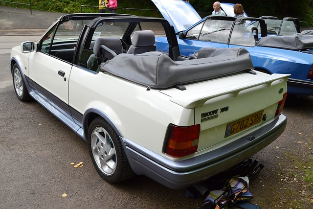 1990 ford escort mark iv xr3i cabriolet g782 srr flickr photo sharing. Black Bedroom Furniture Sets. Home Design Ideas