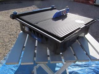 This beautiful little Wilton 4 1/2 inch trim/slab/tile saw ...