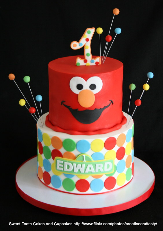 Elmo Cake SweetTooth Cakes and Cupcakes Flickr