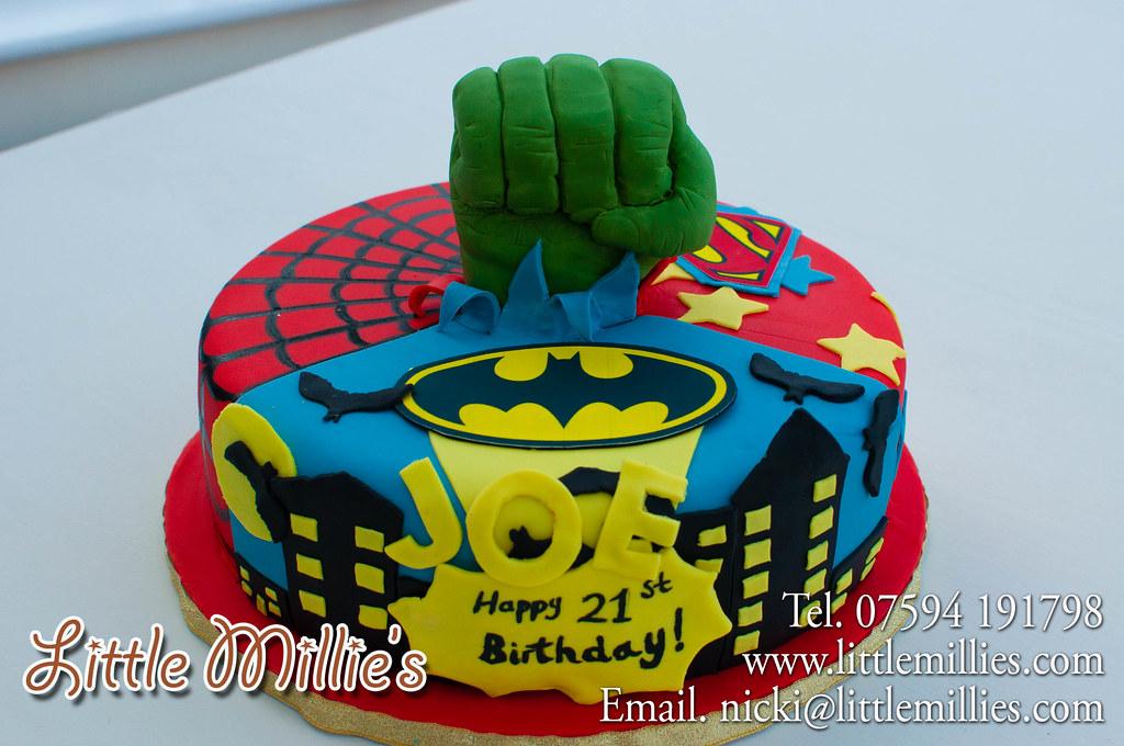 Super Hero Hulk Cake By Little Millie S 1 Jpg Gary Sulter Flickr
