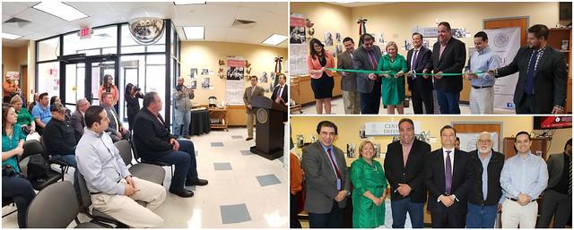 Consulado de México en Del Rio inaugura Centro de Defensoría