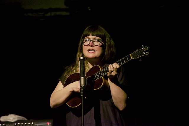 Sara Watkins (with Liz Longley) at the Old Rock House, January 28, 2017