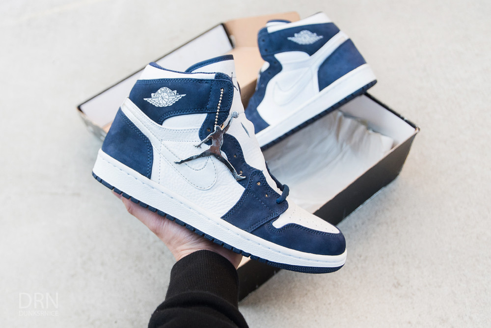 2001 Japan CO.JP. Jordan 1 Midnight Navy.