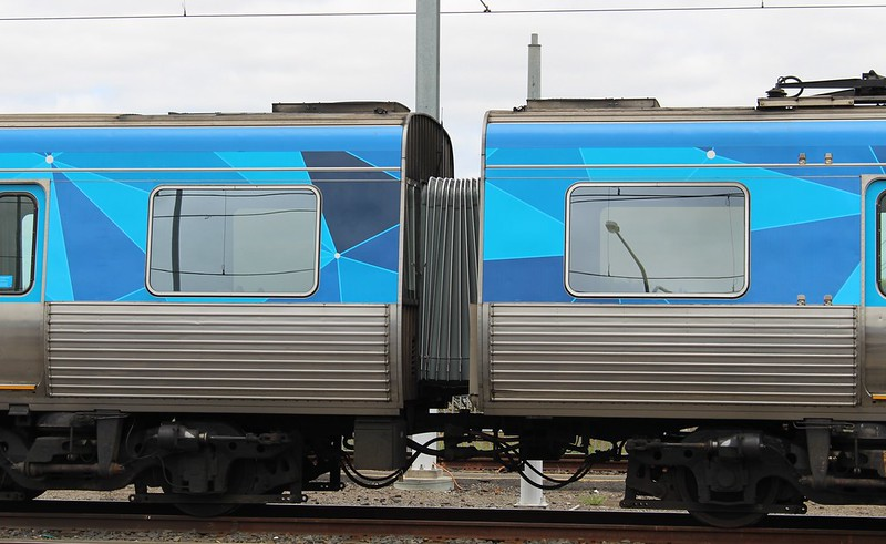 Possible Comeng inter-carriage door upgrade option 1, Craigieburn TMF