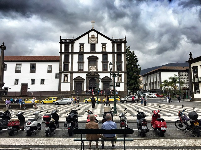 Plaza del comercio de Funchal (Madeira)