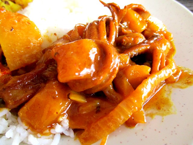 Curry House sotong