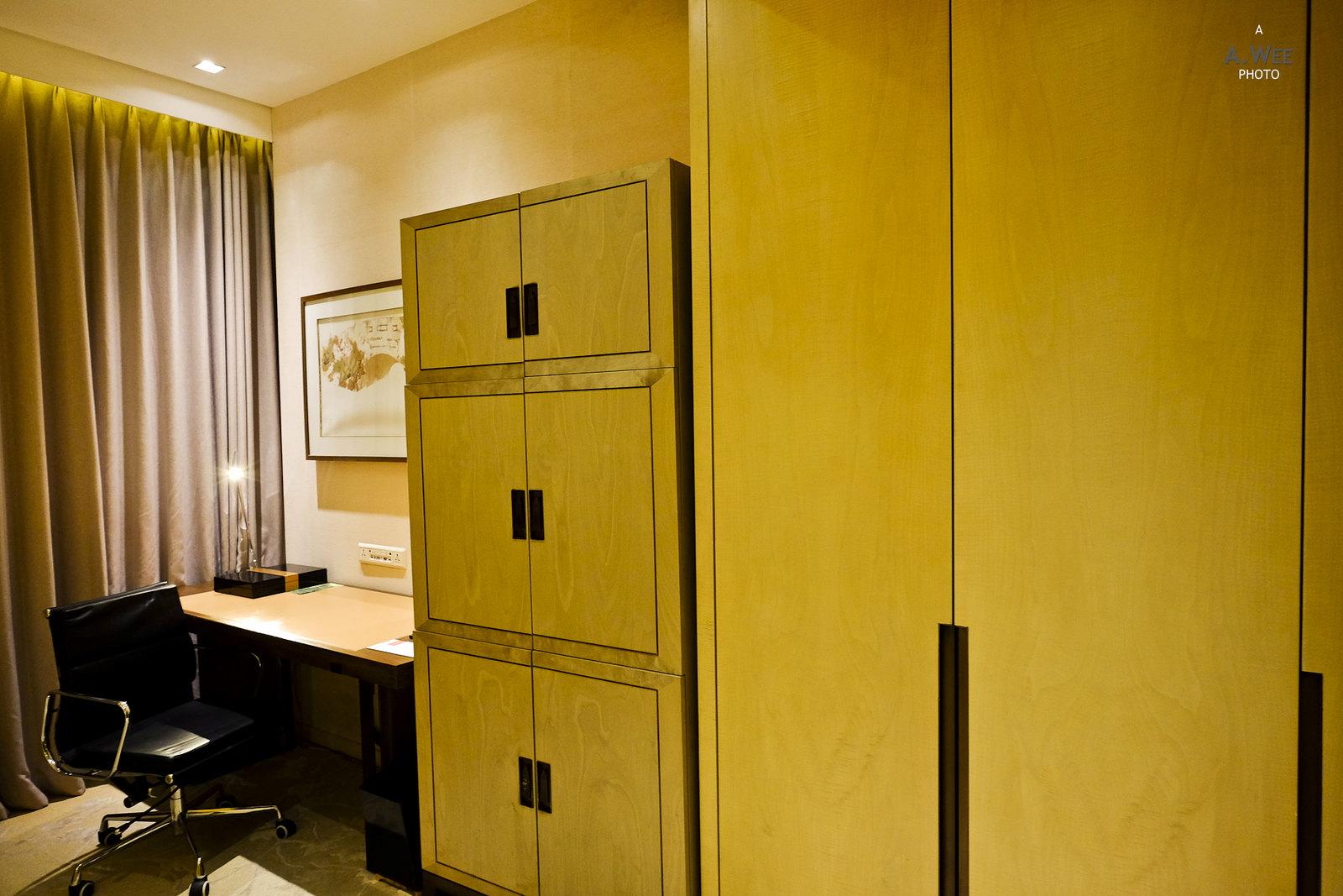 Closet and minibar