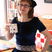 Colette Patterns #monetaparty Moneta in Blue Velvet