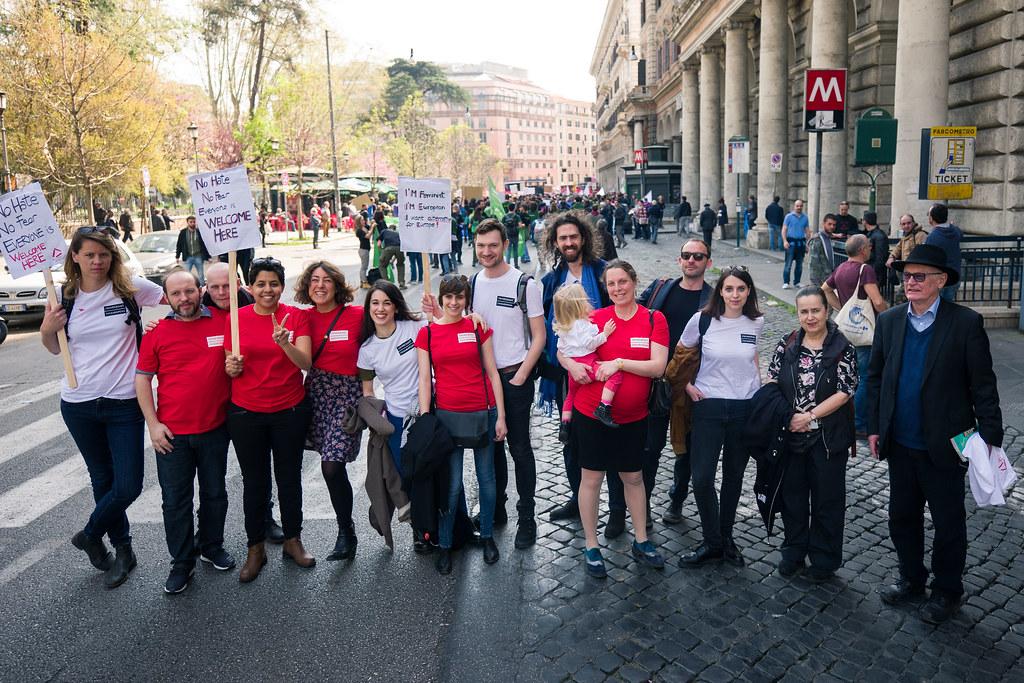 Corteo La Nostra Europa a Roma - Europe4All #ea10