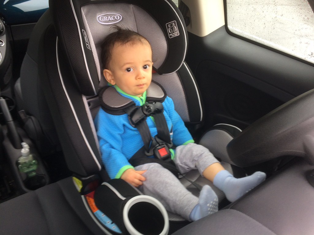 Baby Car Seat Up Front
