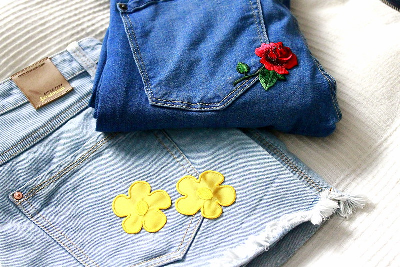 embrodoired jeans