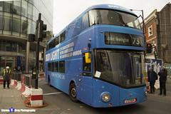 Wrightbus NRM NBFL - LTZ 1524 - LT524 - Bud Light - Stoke Newington 73 - Arriva London - London 2017 - Steven Gray - IMG_8228