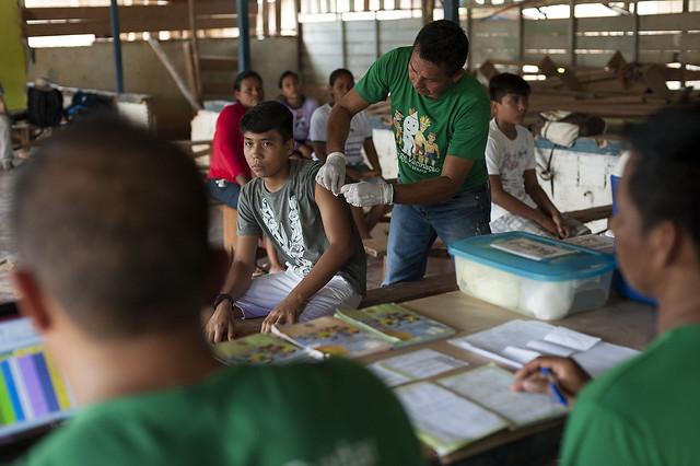 Ação de Imunização na Aldeia Umariaçu II - 24.032017, Tabatinga(AM)