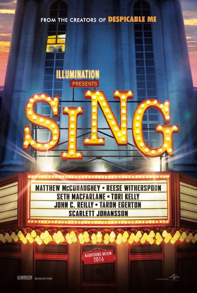 「SING シング」のポスター
