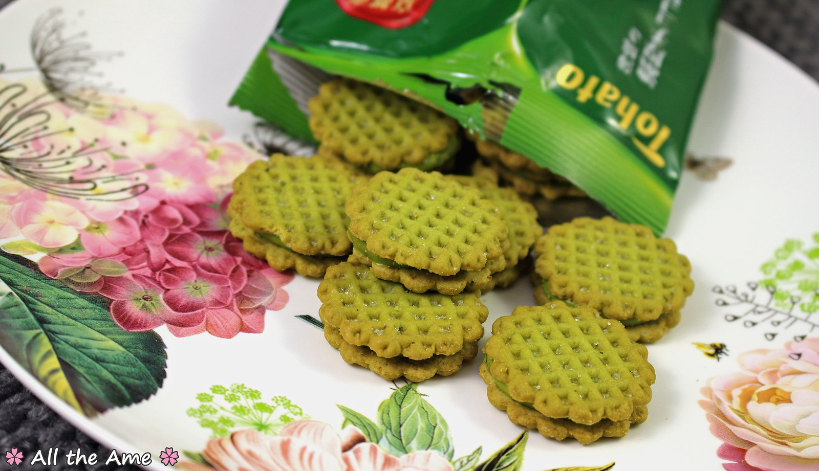 Harvest Rich Matcha Biscuits