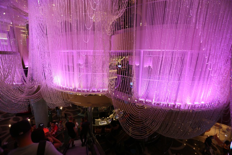 The Chandelier Bar at the Cosmopolitan Hotel in Las Vegas