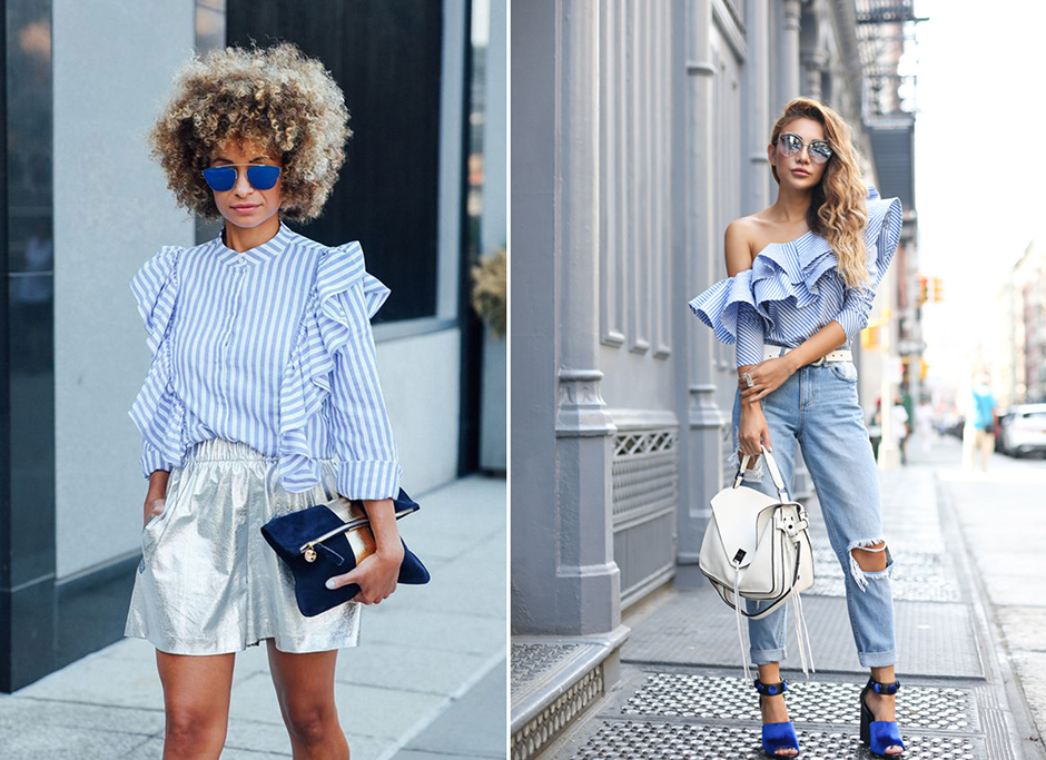ruflled-top-blue-outfit-ideas