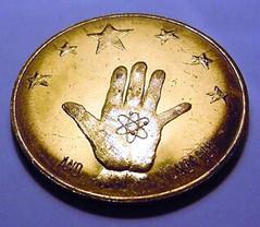 Atomic Age medal obverse