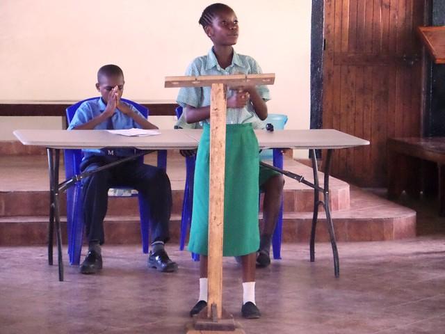 Precious shows us her debating skills