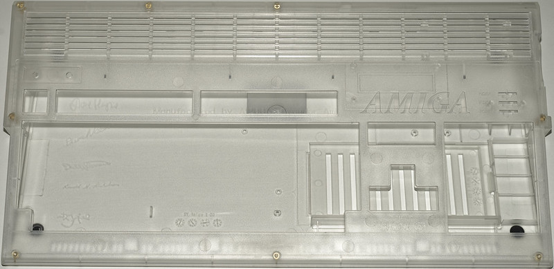 Transparent Amiga 1200 Case