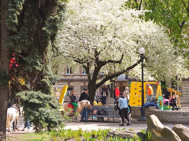 April in Kiev