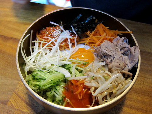 Bibimbap with Pulled Pork