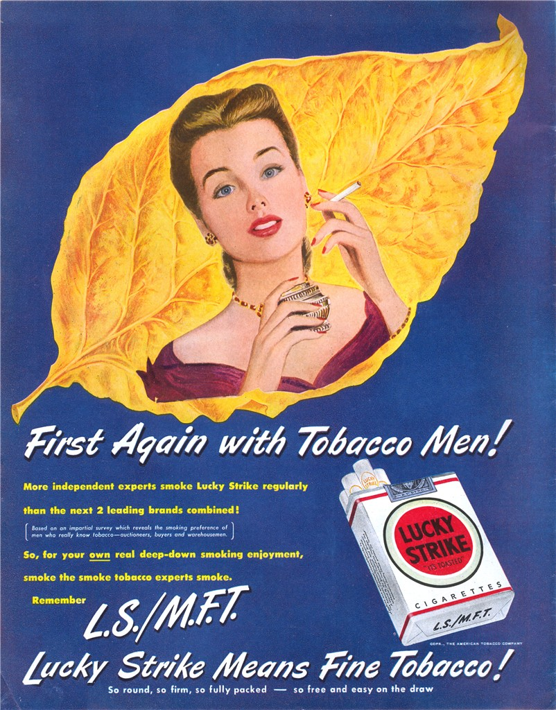 Lucky Strike - published in Look - February 1, 1949