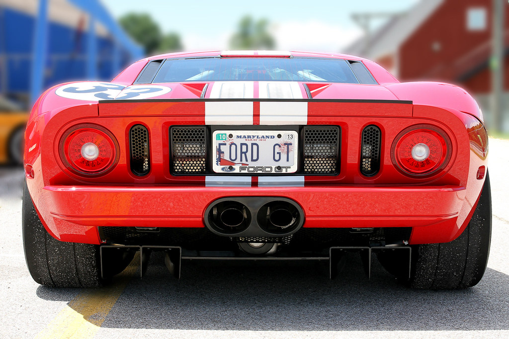 Bad Ass Ford Gt By Tom Madigan Bigheadimages